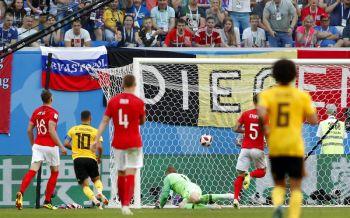 \'สิงโต\'เขี้ยวหักซ้ำ! เบลเยี่ยมสอนมวย 2-0 ซิวอันดับ 3 บอลโลก