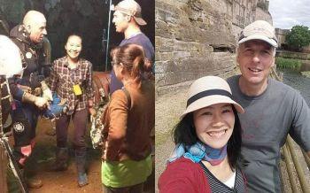 ฟินยิ่งกว่านิยาย! ฝรั่งฮีโร่ช่วย13หมูป่าติดถ้ำ พบรักพยาบาลสาวไทย