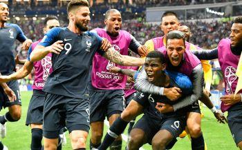 ฝรั่งเศสแชมป์โลก!ฟอร์มแกร่งทุบโครแอต4-2 (ประมวลภาพ)