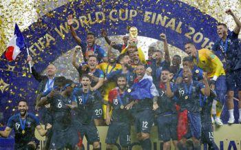 ประมวลภาพฟุตบอลโลก2018นัดชิงชนะเลิศ