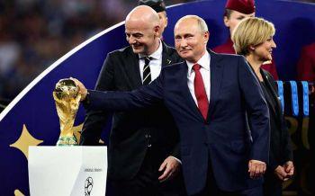 \'ปูติน\'แฉ!รัสเซียถูกโจมตี25ล้านครั้งช่วงบอลโลก