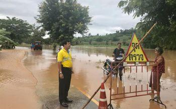 ฝนถล่มหนักเลย-พิษณุโลกอ่วม! น้ำป่าไหลหลากปิดถนน-พื้นที่เกษตรเสียหายหลายร้อยไร่