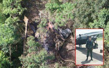 \'จ.ส.อ.\'ผู้รอดชีวิตจากเหตุเครื่องบินU-17ตกกลางป่าแม่ฮ่องสอนเสียชีวิตเป็นรายที่4