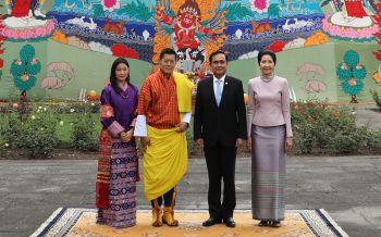\'กษัตริย์จิกมี\'พระราชทานวโรกาสให้นายกฯเข้าเฝ้าในโอกาสเยือนภูฏาน