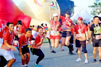 ลุ้นเซเลบฯดาราสร้างสีสัน  ชวนวิ่งกินเที่ยวโอซากา