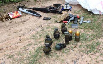 ผงะ! พบ\'ระเบิดสังหาร-อาวุธสงคราม\' ทิ้งป่าข้างทางกลางเมืองสุรินทร์