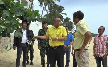 ผู้ว่าสุราษฎร์ฯลงพื้นที่เกาะสมุยแก้ปัญหาน้ำเสียหลังนทท.โพสต์ประจาน