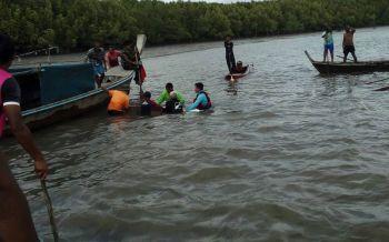 กระบี่คลื่นลมแรงซัดเรือเล็กล่ม! 2พ่อ-ลูกสูญหาย จนท.เร่งค้นหาพบกลายเป็นศพก้นทะเล