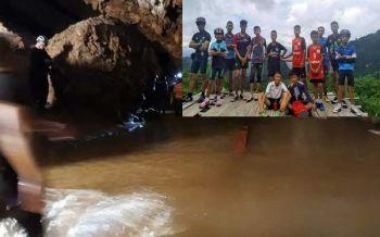 Thai NavySEALเปิด'คลิป'ดำน้ำจากโถง3-เนินนมสาวช่วยทีมหมูป่า