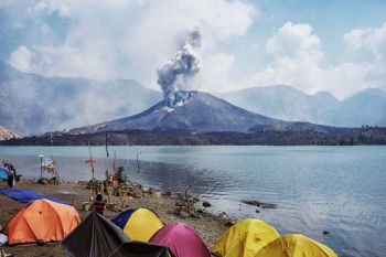 \'อินโดฯ\'อพยพนักท่องเที่ยวได้อีก543คน ยังเหลืออีก6คนบน\'ภูเขาไฟรินจานี\'