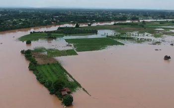 น้ำโขงไหลผ่านหนองคายสูงต่อเนื่อง เอ่อท่วมบ้านเรือนปชช.-พื้นที่เกษตรมากขึ้น