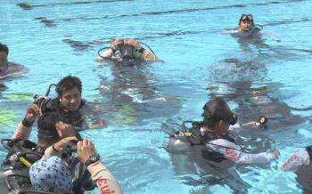 ถอดบทเรียนถ้ำหลวง! \'ฮุก31โคราช\'ฝึกเพิ่มประสิทธิภาพการดำน้ำกู้ภัย