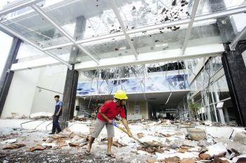 แผ่นดินไหว'อินโดนีเซีย' ดับร่วม100ศพ  อพยพ1.2พันคนหนีตาย