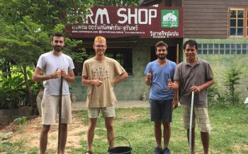 \'Welcome To satomfarm\' หนุ่มเมืองช้างปิ๊งไอเดีย ชวนชาวนาร่วมกลุ่มทำเกษตรอินทรีย์สู่วิถียั่งยืน