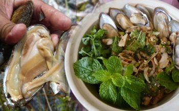 สินในน้ำ!ชาวบ้านกระบี่งมเจอ'หอยแทงฝัง' อวบอ้วน ต้ม ผัดกะเพรา สุดโอชะ