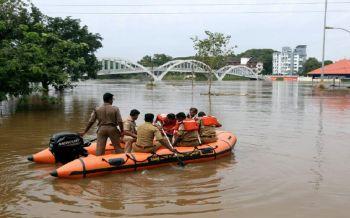 อ่วม!'อินเดีย'เผชิญมรสุมน้ำท่วม เสียชีวิต37ราย-ปชช.36,000คนไร้บ้าน