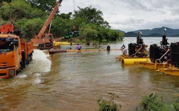 โชว์ความสำเร็จ! กรมชลฯเผยใช้วิธีทอนน้ำออกเขื่อนแก่งกระจาน ป้องกันอุทกภัยเมืองเพชร