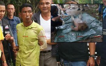 รวบมอญโหด! มือฆ่าตัดคอโยนทิ้งแม่น้ำแควน้อย สารภาพทำไปเพราะโมโหหิว