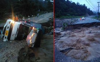 ฝนถล่มหนัก น้ำป่าซัด!!! 'เชียงใหม่'ถนนขาด5จุด รถผ่านไม่ได้