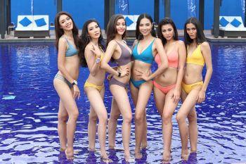 ผู้เข้าประกวด'มิสไทยแลนด์เวิลด์ 2018'อวดหุ่นสวยในชุดว่ายนํ้า