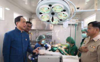 'พระองค์ภาฯ'ทรงมอบอุปกรณ์ทางการแพทย์ รักษาสัตว์ที่ถูกทอดทิ้ง-ทารุณ