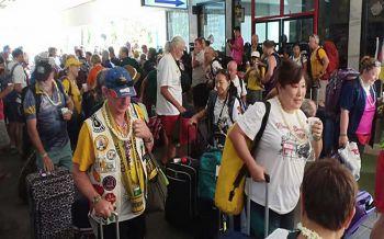 นทท.กลุ่มแฮชจากทั่วโลก 270 คนเดินทางด้วยรถไฟจาก กทม.ถึงหาดใหญ่แล้ว