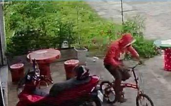 วงจรปิดจับภาพโจรกระจอก!ขโมยจักรยานจอดหน้าร้านฟิตเนสกลางเมืองกาฬสินธุ์