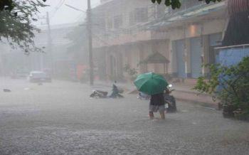 37จังหวัดเสี่ยงฝนตกหนักจากอิทธิพล\'มังคุด\' ส่งผลน้ำเข้าเขื่อนเกินกว่า80%
