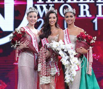 นิโคลีน-พิชาภา ลิมศนุกาญจน์  สาวน้อยวัย 19 คว้ามงกุฎ มิสไทยแลนด์เวิลด์ 2018  ลั่นจะเป็น 'มิสเวิลด์' คนแรกของประเทศไทย