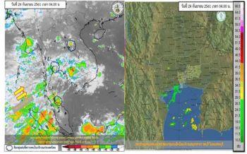 'ภาคตะวันออก'ฝนหนัก 'กทม.'ไม่เบา ตกร้อยละ60