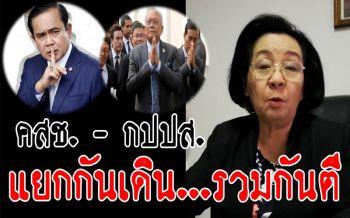รู้เยอะจริงๆ! 'ธิดา'โชว์วิเคราะห์'คสช.-กปปส.แยกกันเดิน รวมกันตี'เพื่อไทย-ระบอบทักษิณ'
