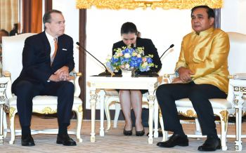 คืนสู่ประชาธิปไตย! ทูตสหรัฐลาบิ๊กตู่ หวังไทยมีรบ.จากเลือกตั้ง เปิดกว้างคนไทยตัดสินอนาคตประเทศ
