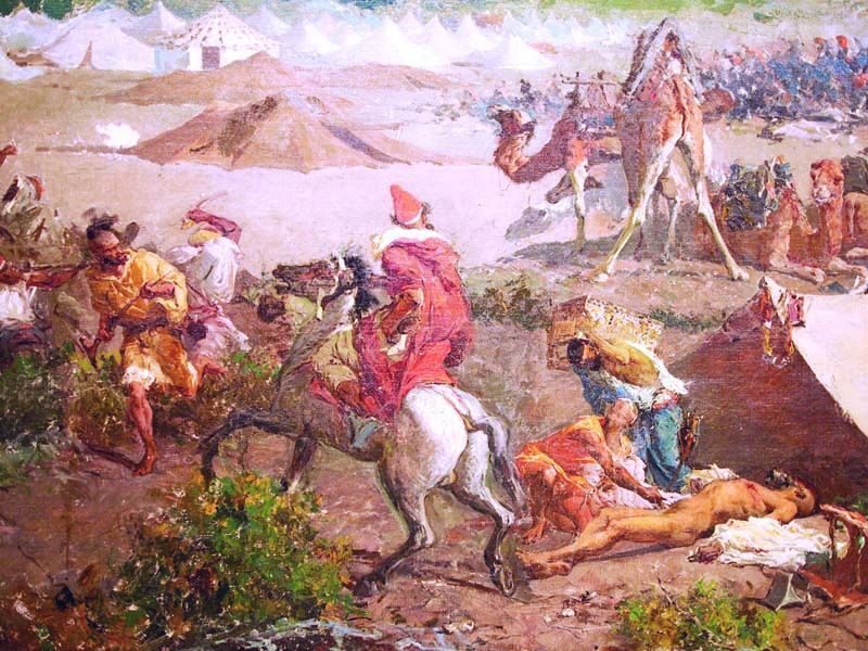 The Battle of TeTuan detail 2