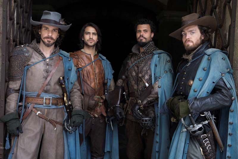 The Musketeers สามทหารเสือ