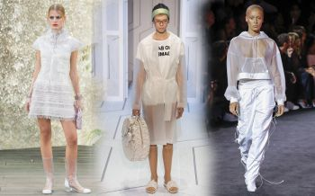 In trend : SPRING 2018  IN THE CLEAR