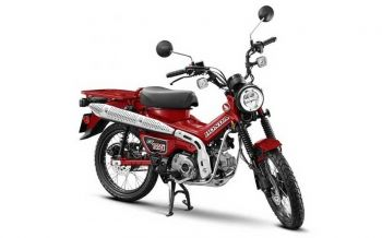 Honda CT125  สไตล์ Trail Hunter