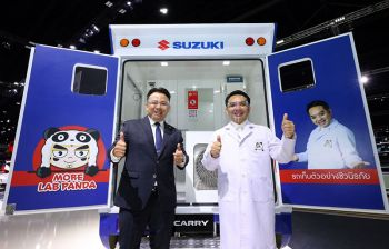 SUZUKI CARRY Biosafety Mobile Unit